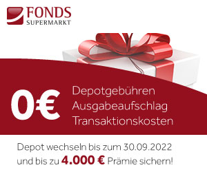 FondsSuperMarkt - Jetzt bis zu 4.000,-€ Prämie sichern!